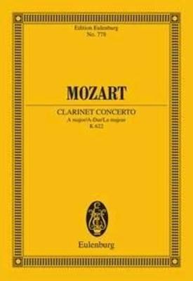 Mozart Concerto pour Clarinette et orchestre KV622 / Mozart Wolfgang Amadeus / Eulenburg