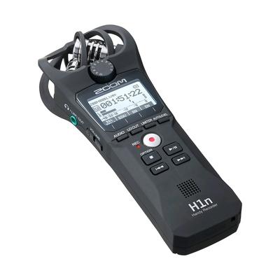 Zoom H1n Handy Recorder Matte Black