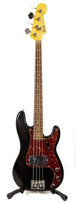Fender Custom Shop Postmodern Precision Bass Rosewood Fingerboard Aged Black