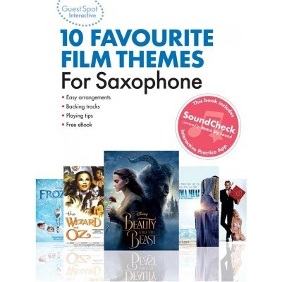 Guest Spot Interactive Film themes for Saxophone10 Favourite Film Themes For Saxophone /  / Wise Publications