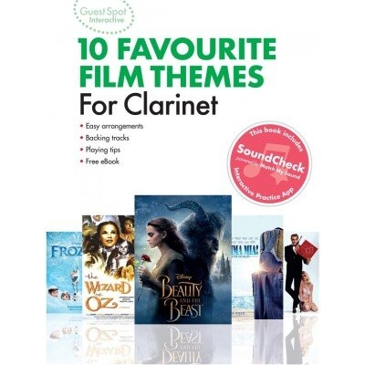 Guest Spot Interactive 10 favourite Film theme for Clarinet /  / Wise Publications