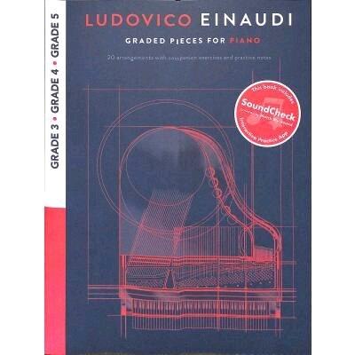 Graded Pieces For Piano – Grades 3-5 / Ludovico Einaudi / Chester Music