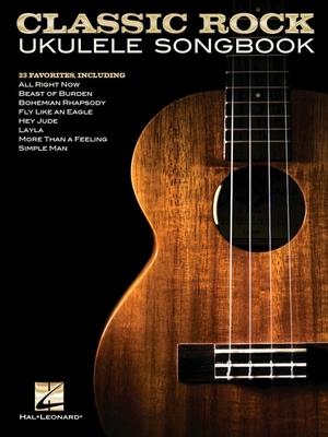 Classic Rock Ukulele Songbook /  / Hal Leonard