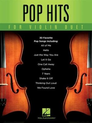 Pop Hits For Violon Duet /  / Hal Leonard