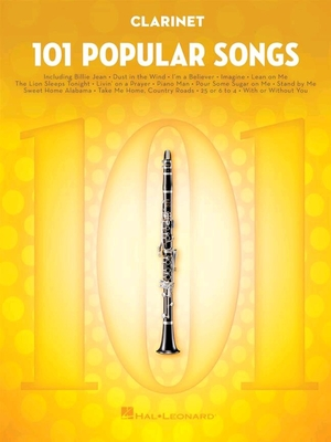 101 Popular Songs Clarinet /  / Hal Leonard