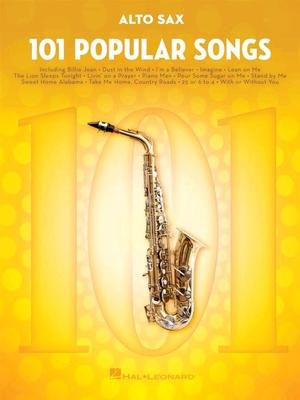 101 Popular Songs Saxophone Alto /  / Hal Leonard