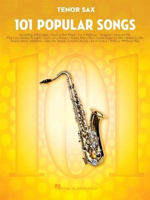 101 Popular Songs Saxophone Tenor /  / Hal Leonard