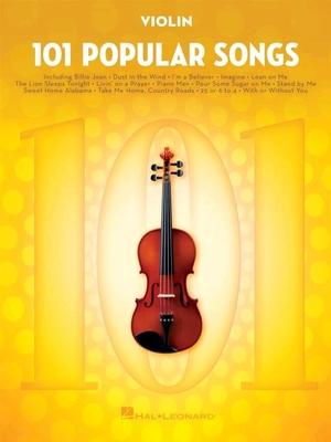 101 Popular Songs Violon /  / Hal Leonard