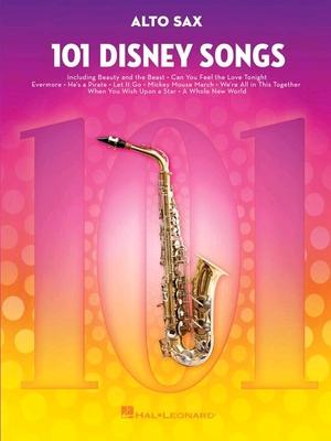 101 Disney Songs Alto Sax /  / Hal Leonard