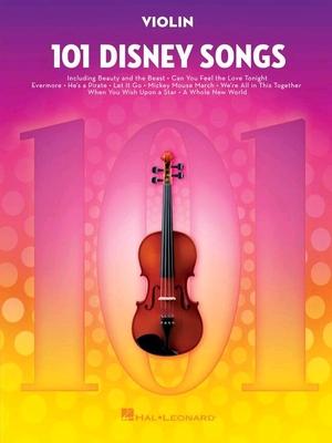 101 Disney Songs Violon /  / Hal Leonard