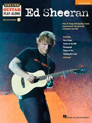 Deluxe Guitar Play Along Ed Sheeran /  / Hal Leonard