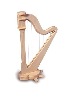 Hal Leonard Quay Woodcraft Kit Harp