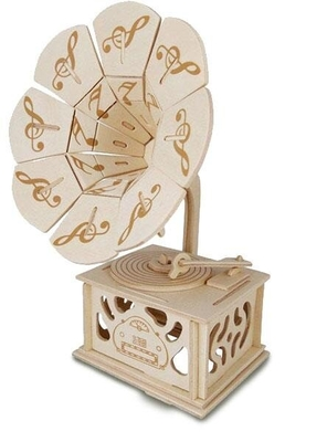 Hal Leonard Quay Woodcraft Kit Gramophone