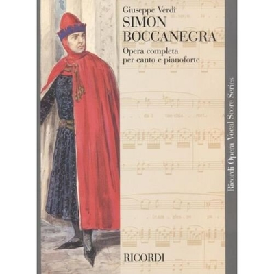 Simon Boccanegra / Giuseppe Verdi / Ricordi