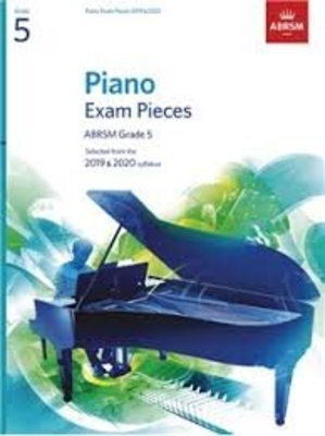 Piano Exam Pieces 2019 and 2020 – Grade 5 /  / ABRSM Publishing