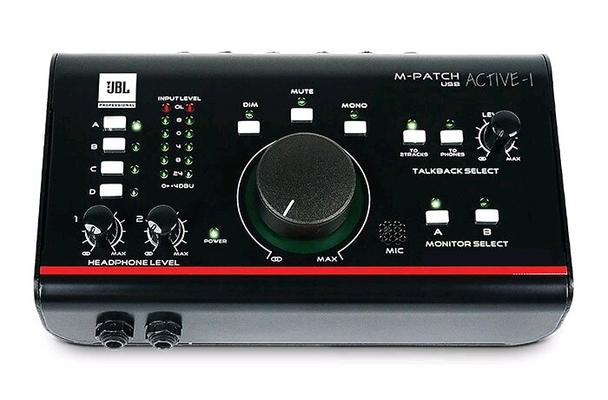 JBL ACTIVE-1 SM PRO, Monitor Control, Talkback, USB Audio I/O