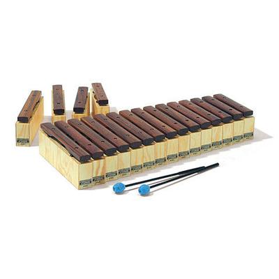 Sonor KS 400 P 1 Kl. Stäbe Satz 19 Töne, mit fis und b, 1 Paar Sch 16
