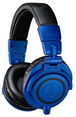 Audio Technica Pro ATH-M50xBB Casque de contrôle studio professionnel EDITION LIMITEE Noir & Bleu
