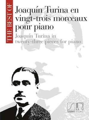 Joaquin Turina en 23 morceaux pour piano /  / Salabert
