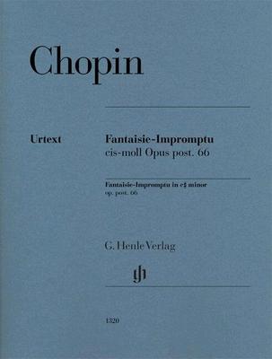 Fantaisie Impromptu op. 66 / Frédéric Chopin / Henle