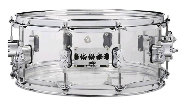 PDP Acrylic Snare 13» x 7»