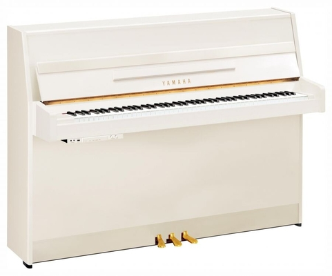 Yamaha Pianos Silent B1 SC2 PWH Silent blanc poli-brillant 109 cm