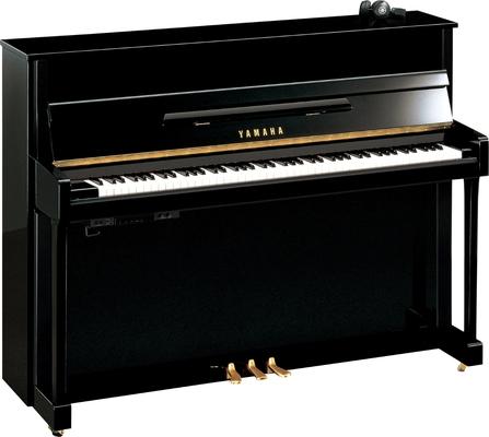Yamaha Pianos Silent B2 SC2 PE Silent noir poli-brillant 113 cm