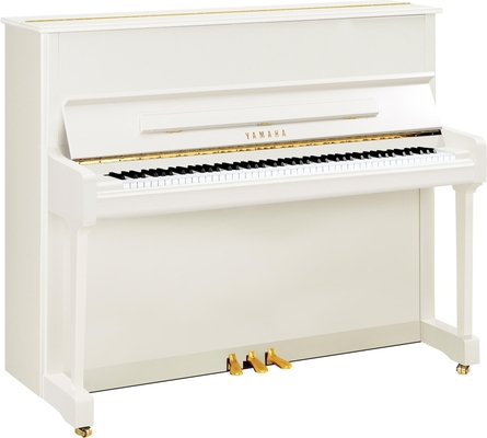 Yamaha Pianos Silent P121 SH2 PWH blanc poli-brillant 116 cm