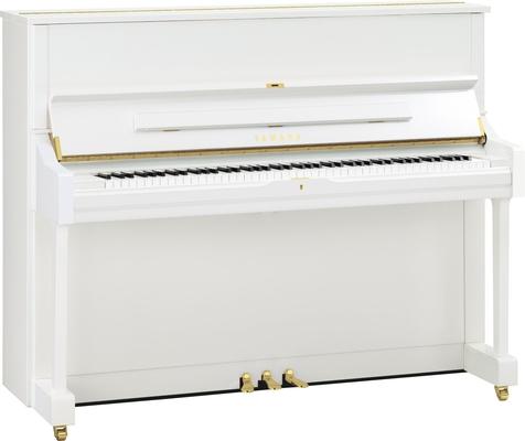 Yamaha Pianos Silent U1 SH2 PWH Silent Blanc poli-brillant 121 cm