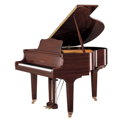 Yamaha Pianos Silent GB1 SC2 PAW Silent, Noyer américain poli-brillant, 151 cm