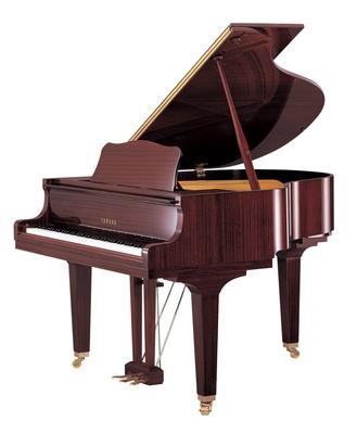Yamaha Pianos Silent GB1 SC2 PM Silent acajou poli-brillant 151 cm