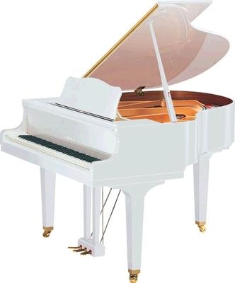 Yamaha Pianos Silent GB1 SC2 PWH Silent blanc poli-brillant 151 cm