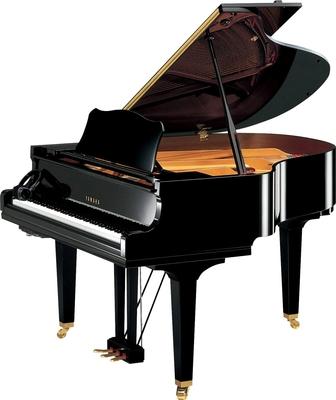 Yamaha Pianos Silent GC1 SH2 SE Noir satiné 161 cm