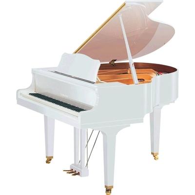 Yamaha Pianos Transacoustic GC1 TA2 PWH blanc poli-brillant 161 cm