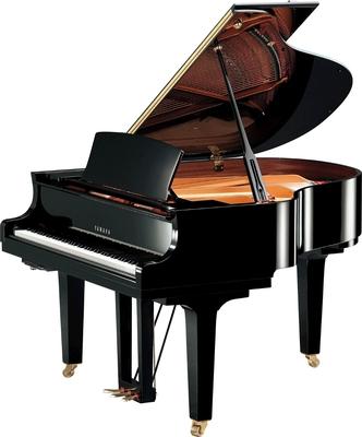 Yamaha Pianos Transacoustic C1X TA2 PE TransAcoustic noir poli-brillant 161 cm