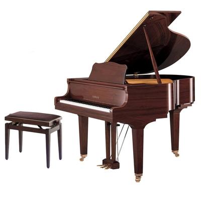 Yamaha Pianos Transacoustic C1X TA2 SAW TransAcoustic Noyer américain satiné 161 cm