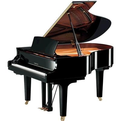 Yamaha Pianos Silent C2X SH2 PE Noir poli-brillant 173 cm