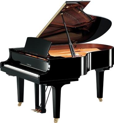 Yamaha Pianos Transacoustic C3X TA2 PE TransAcoustic Noir poli-brillant 186 cm