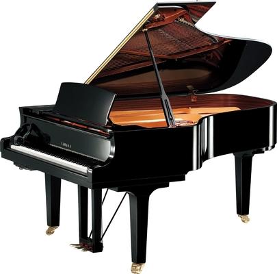 Yamaha Pianos Silent C6X SH2 PE Noir poli-brillant 212 cm