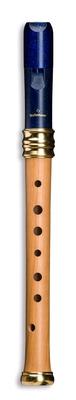 Mollenhauer 1117B Flûte de Rêve d'Adri Soprano (bois/résine) Bleue Nuit Simple Trou