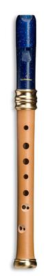Mollenhauer 1119B Flûte de Rêve d'Adri Soprano (bois/résine) Bleue Nuit Double Trou