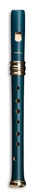 Mollenhauer 4117B Flûte de Rêve d'Adri Soprano (bois coloré) Poirier Bleue Simple Trou