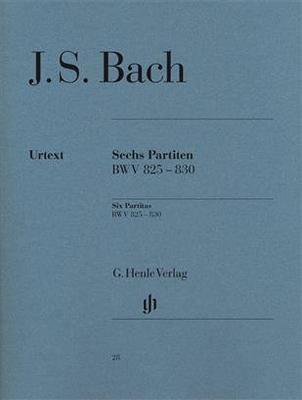J.S. Bach 6 Partiten BWV 825-830 / Johann Sebastian Bach / Henle Verlag