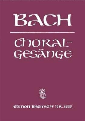 J.S. Bach 389 Choralgesänge / 389 Chorales / Johann Sebastian Bach / Breitkopf
