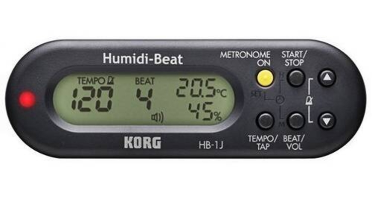 Korg Metro-Hygro-Thermo : Métronome – Hygromètre – ThermomètreHumidi – Beat noir