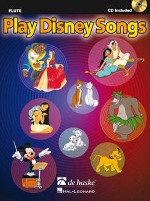 Play Disney Songs pour Flûte Solo Arrangements of 12 Classic Disney Songs with CD Accompaniment /  / Hal Leonard