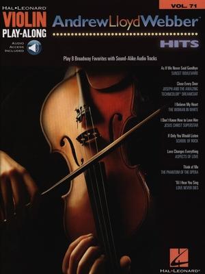 Andrew Lloyd Webber Hits /  / Hal Leonard