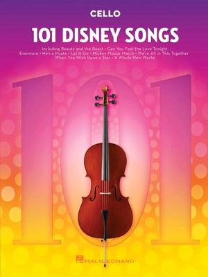 101 Disney Songs Violoncelle /  / Hal Leonard