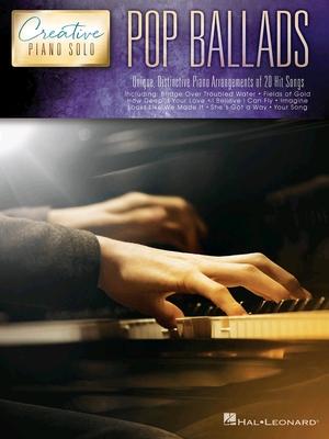Pop Ballads  Creative Piano Solo /  / Hal Leonard