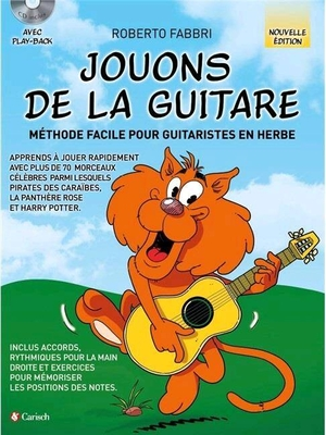 Jouons de la Guitare – Recueil + CD / Roberto Fabbri / Carisch